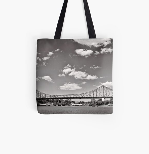 Bridging the Brisbane River - Australia All Over Print Tote Bag