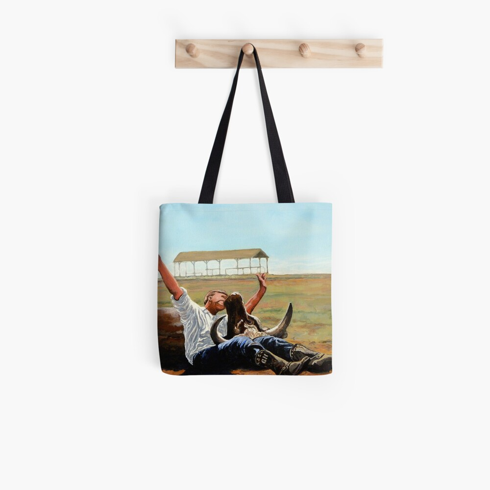 Bucky Get the Bull Tote Bag