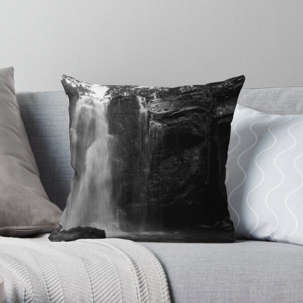 Phantom Falls, Lorne, Victoria, Australia Throw Pillow