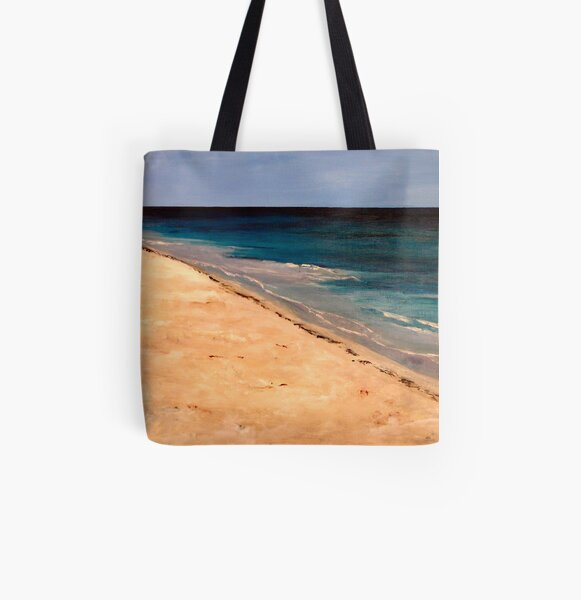 Mombasa beach 2012 All Over Print Tote Bag