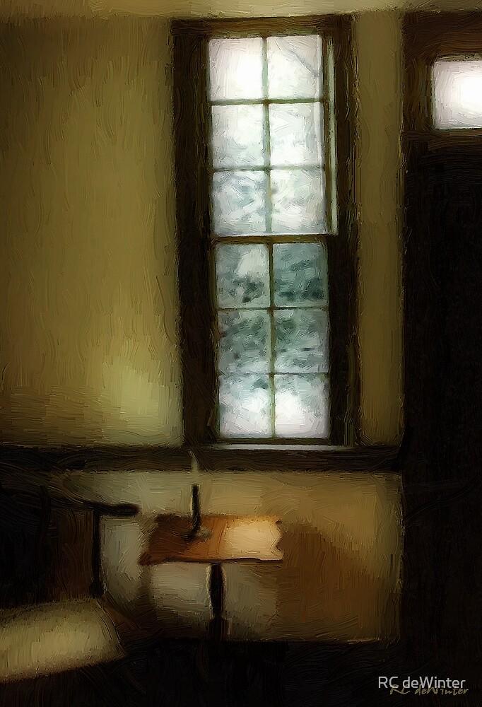 Sitting Room, Spring Rain by RC deWinter