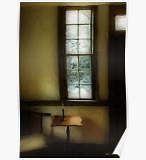 Sitting Room, Spring Rain Poster
