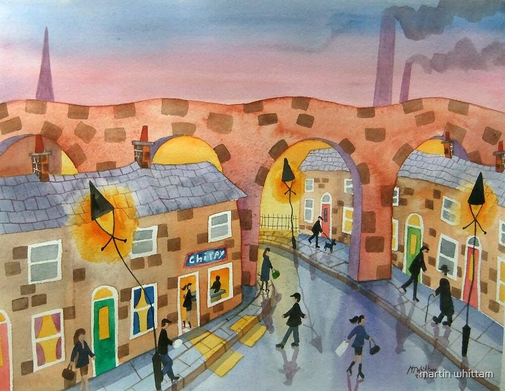 Viaduct Chippy by martin whittam