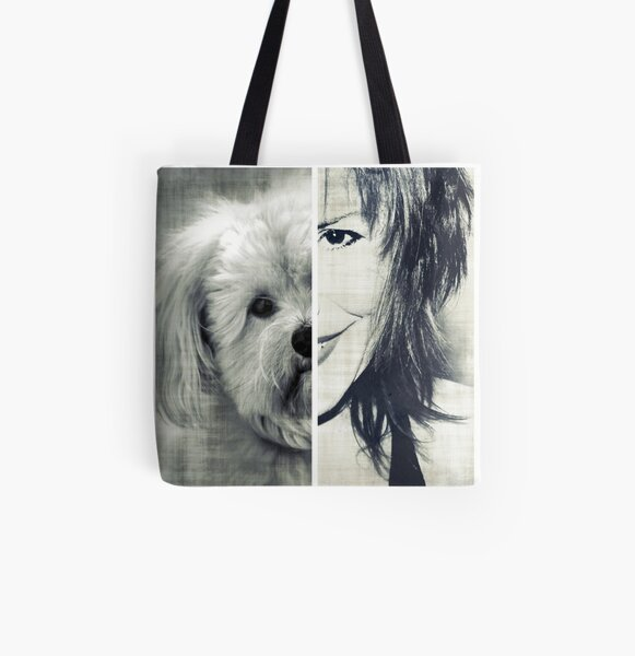 My Better Half All Over Print Tote Bag