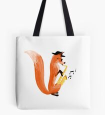 Jazzy Fox Tote Bag