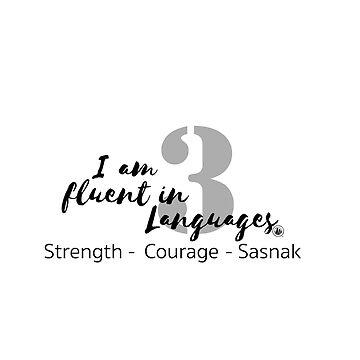 I Speak 3 Languages by SASNAK1