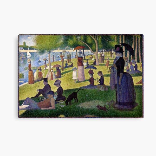Sunday Afternoon on La Grande Jatte Canvas Print