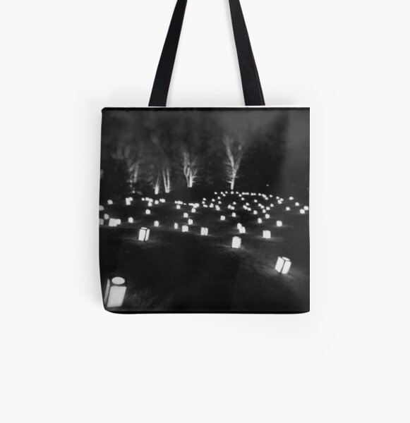 Flied of Lanterns All Over Print Tote Bag