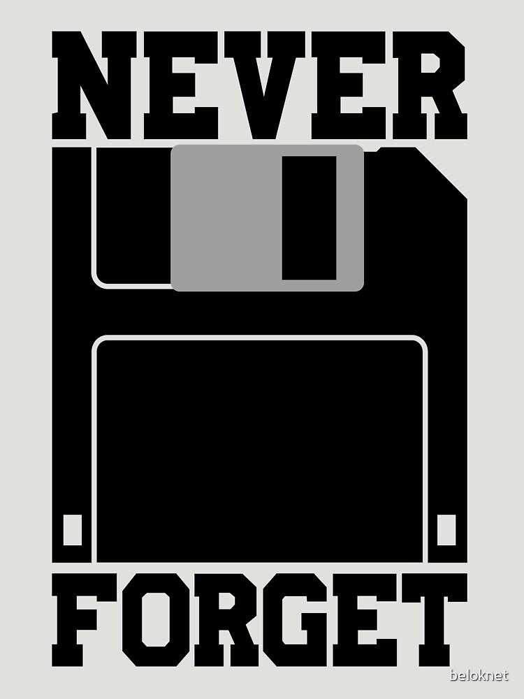 Floppy Disk - Never Forget by beloknet