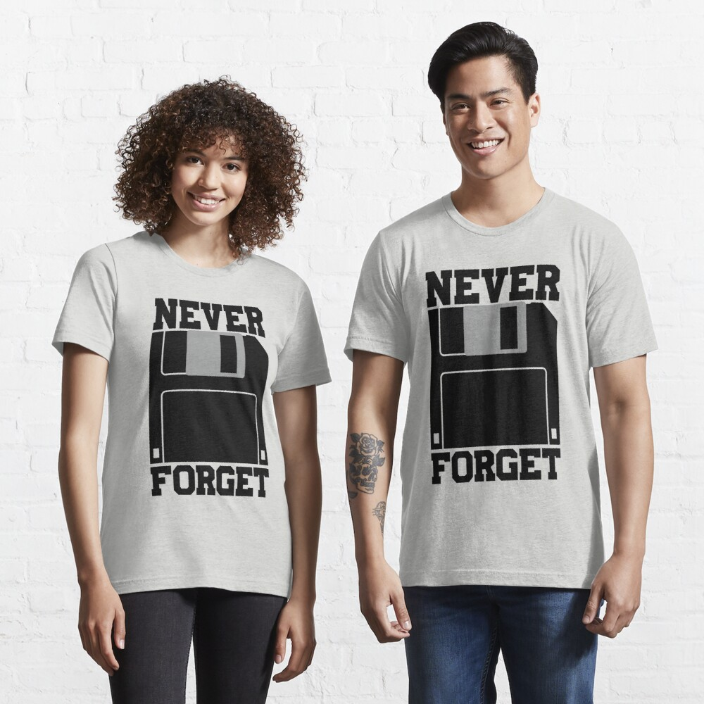 Floppy Disk - Never Forget Essential T-Shirt