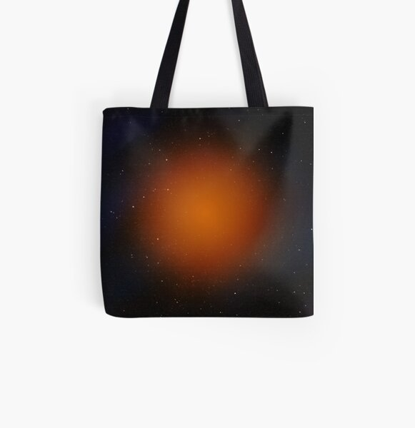 Outer space abstract All Over Print Tote Bag