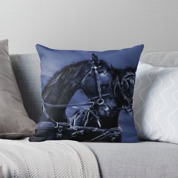 the highwayman Throw Pillow