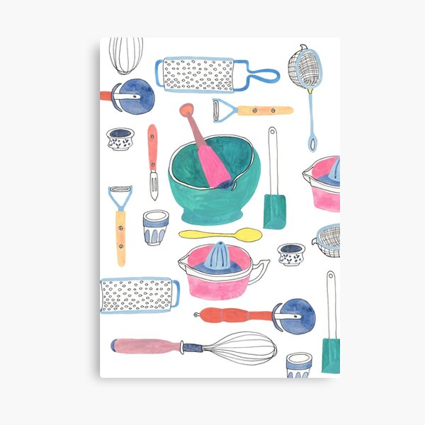 Cook with Me Canvas Print