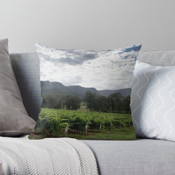 Tend the vines - NSW - Australia Throw Pillow
