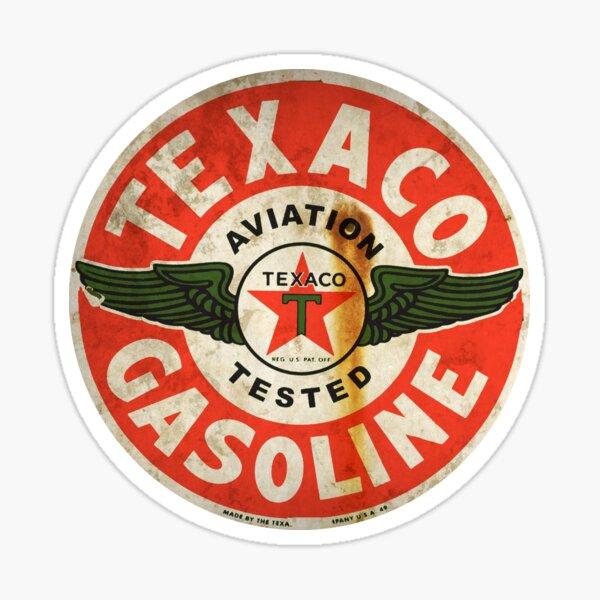 Texaco Vintage Aviation Fuel sign USA Sticker