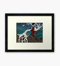 St. Rita and The Fig Tree Framed Print