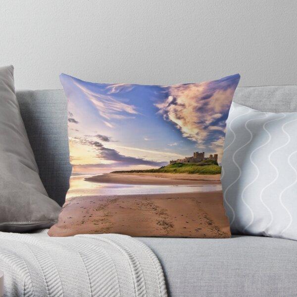 Bamburgh Sunrise Throw Pillow