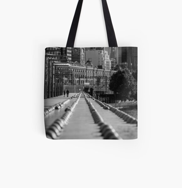 Sandridge Rail Bridge All Over Print Tote Bag