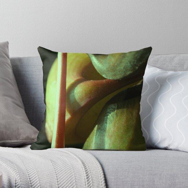vegetal sensuality Throw Pillow