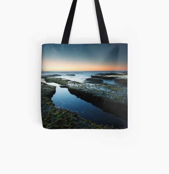 Montforts Dusk - Blairgowrie, Victoria, Australia All Over Print Tote Bag