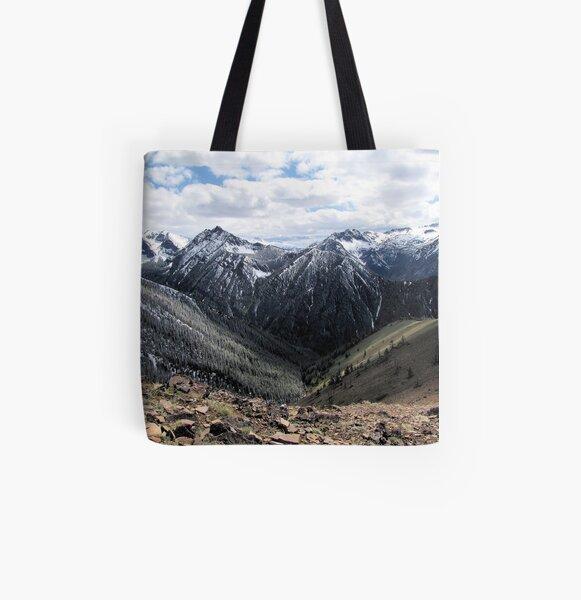 Wallowa Mountains Oregon  All Over Print Tote Bag