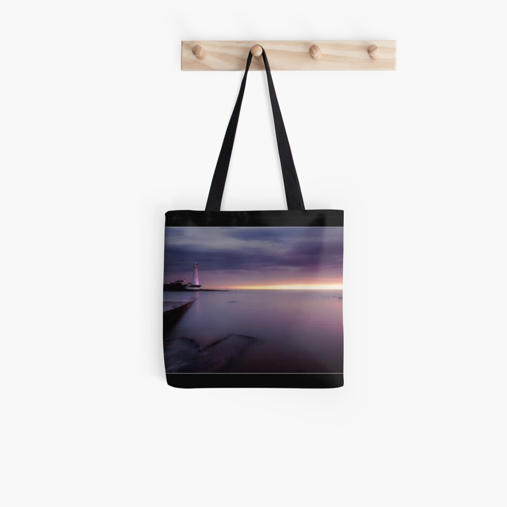 St Mary's Lighthouse Tote Bag