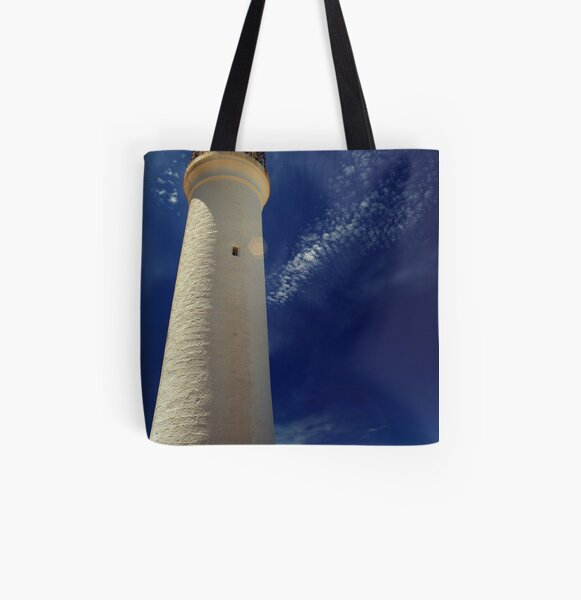 Cape Nelson Lighthouse, Victoria All Over Print Tote Bag