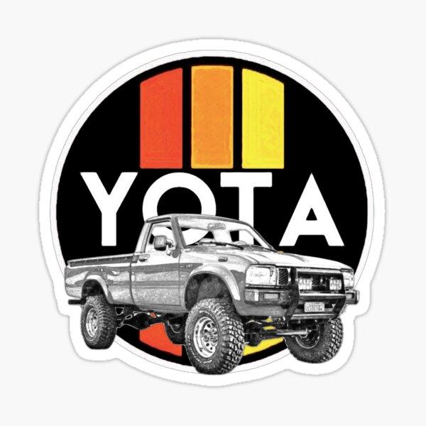 Retro Yota Sticker