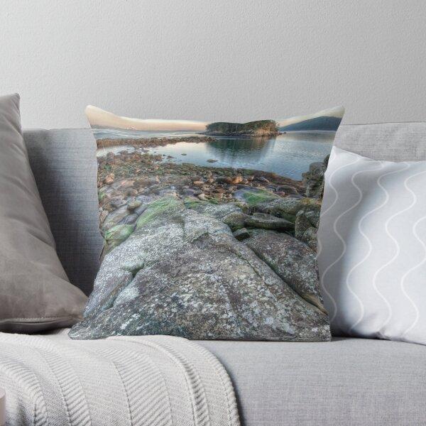 Bennett Bay Point South Throw Pillow