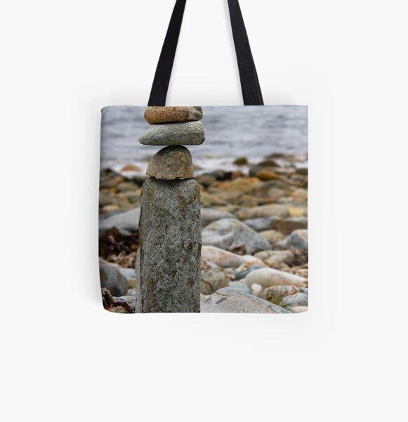 Balancing Rocks All Over Print Tote Bag