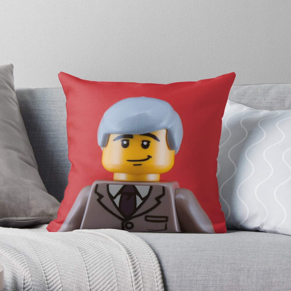 Gilbert Portrait Throw Pillow