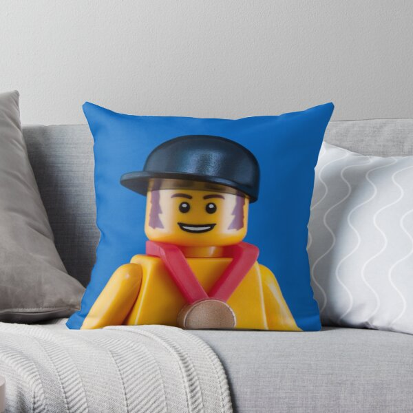 Bradley Wiggins Portrait Throw Pillow