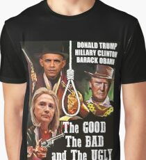 A Political Western Graphic T-Shirt