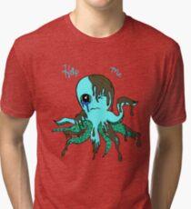 Oil Spill Victim Blue Tri-blend T-Shirt
