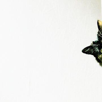Peeking by Ladymoose