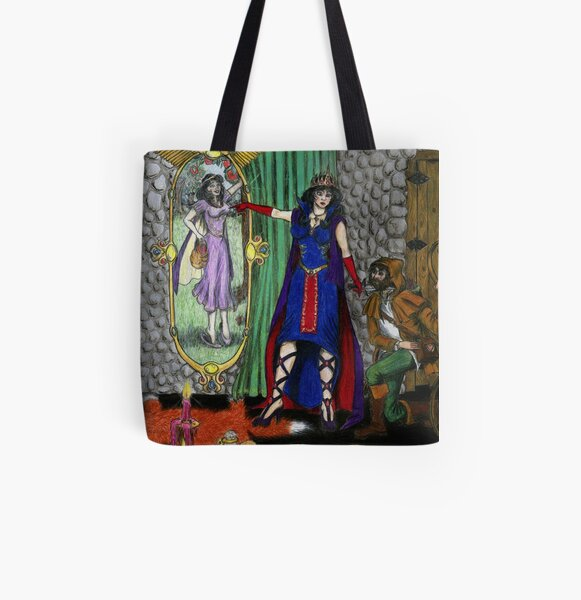 Heart's Desire All Over Print Tote Bag