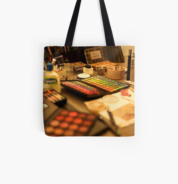 Makeup Allover-Print Tote Bag