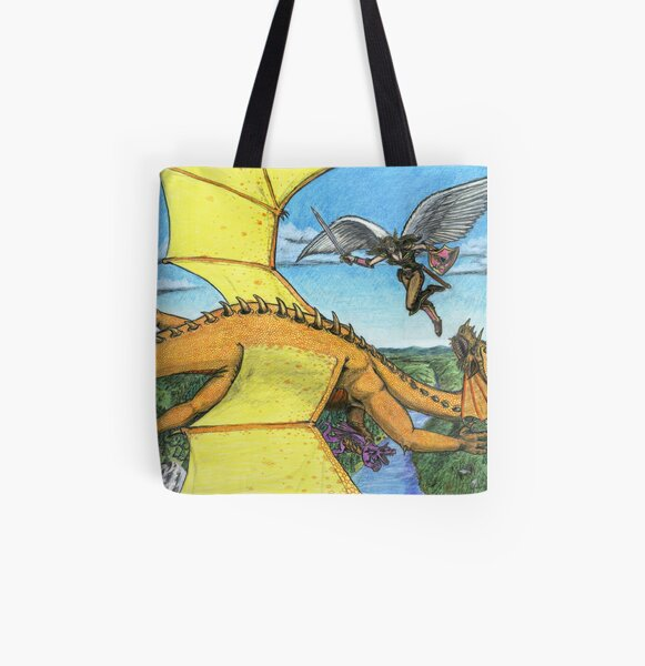 Guardian All Over Print Tote Bag
