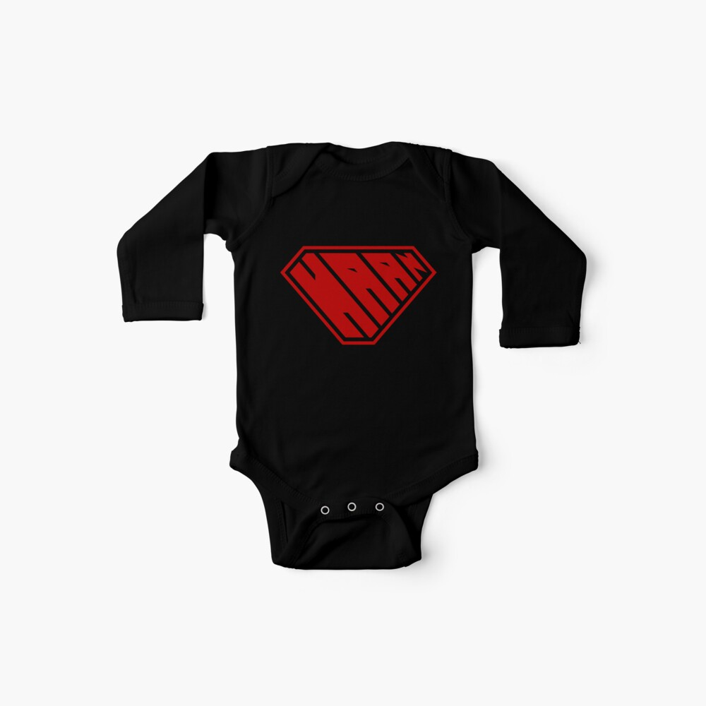 Haan SuperEmpowered (Red) Baby One-Pieces