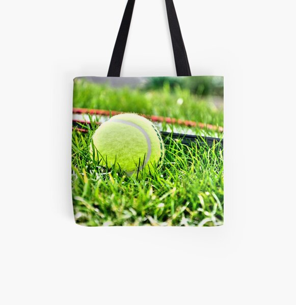 Tennis All Over Print Tote Bag