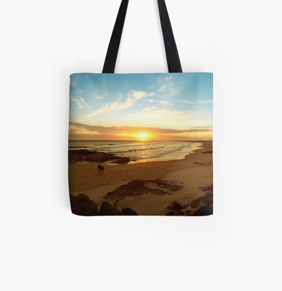 Stockton Beach. All Over Print Tote Bag