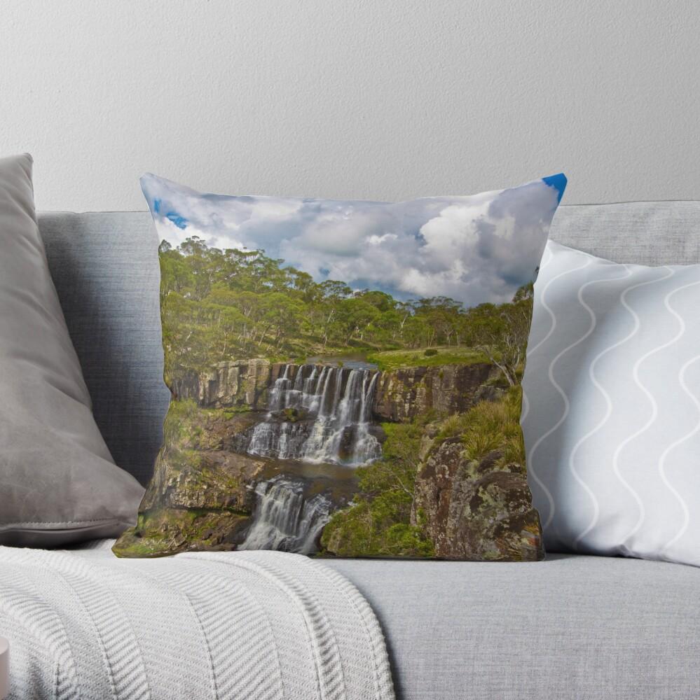 Ebor Falls Lookout Throw Pillow