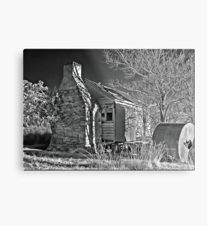 Gone and Forgotten Metal Print