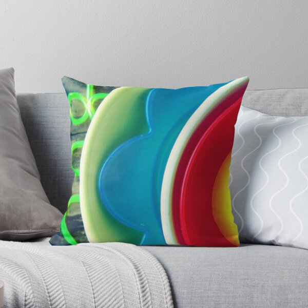 137/365 shape and colour Throw Pillow
