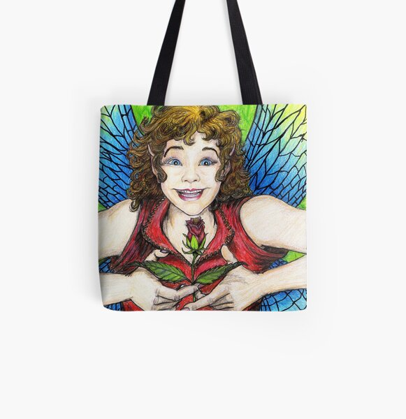 Rose Fairy All Over Print Tote Bag