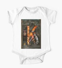 Steampunk - Alphabet - K is for Killer Robots One Piece - Short Sleeve