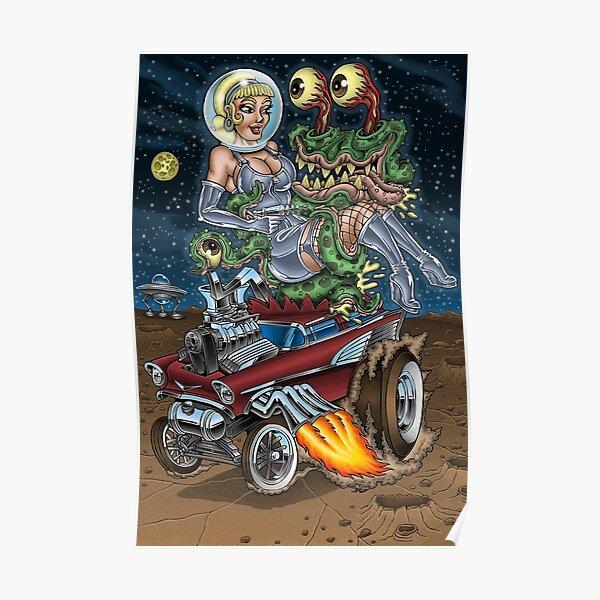 Alien Gasser Abduction Poster