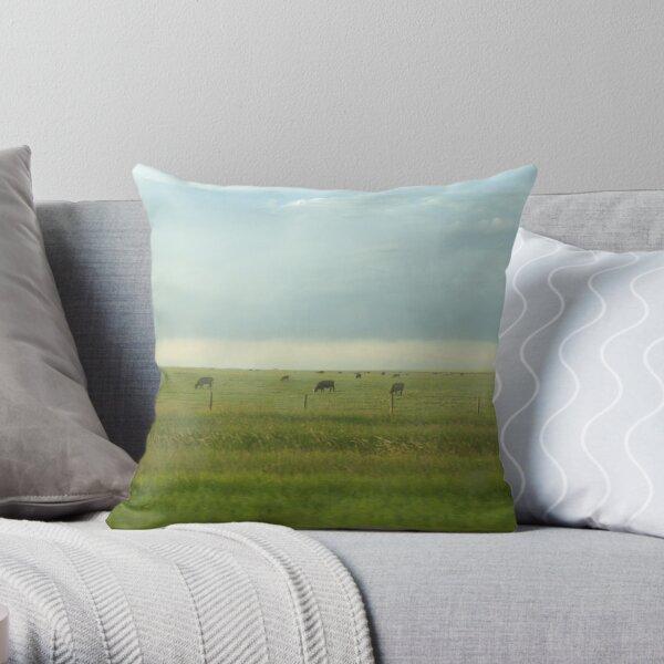 Alberta Farm Throw Pillow