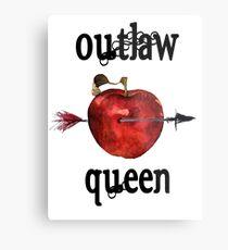Outlaw Queen Merchandise Metal Print