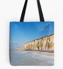 Chalk cliffs Tote Bag
